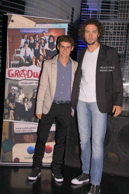 Gaston & Lucas ; Los Graduados