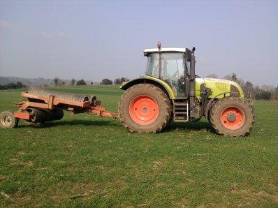 On roules le blé avec un ares 697 et un rouleau !!!