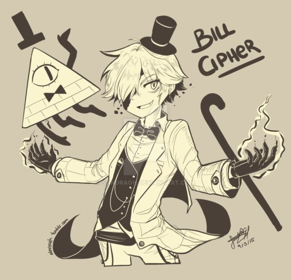 Le temps d'un été + Kill Bipper, kill Dipper, but you can't kill Bill Cipher