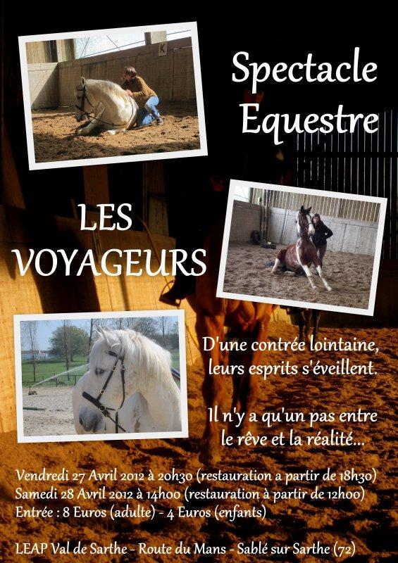 Spectacle Equestre à Sablé sur Sarthe
