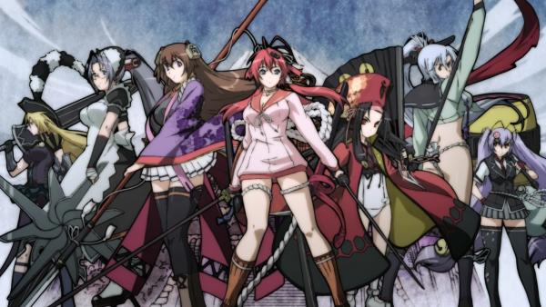 Samurai Girls : Personnages !<3