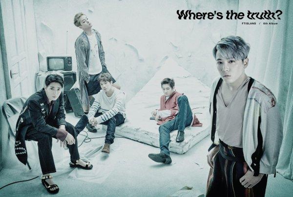 """MV Ft Island - Photos teasers """"Where's the truth?"""" #2"""