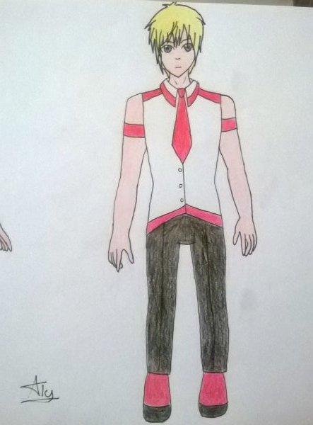 Dessin d'uniforme par Kaly Raise