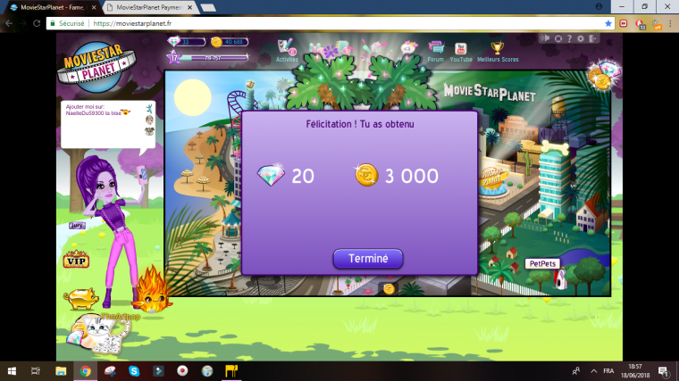 ♥Mon haut 50k♥
