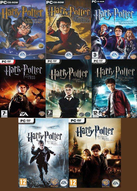 Harry Potter de 1 à 7