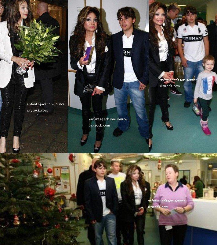 4/01/13|Prince & Latoyal Jackson à Cologne en Allemagne dans un hospita l