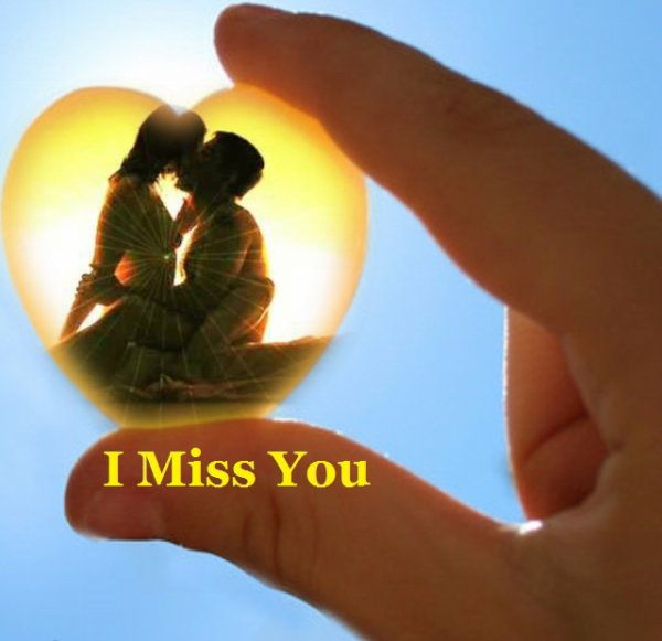 I miss  you  <3 ma belle