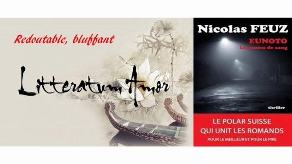 Eunoto Noces de sang de Nicolas Feuz chez The BookEdition.
