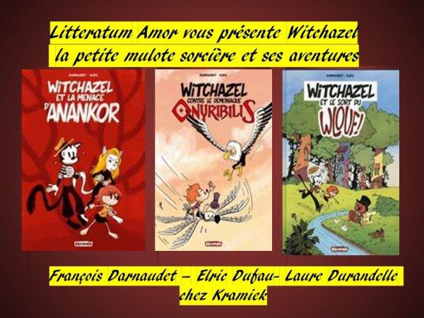 Witchazel et la menace d'Anankor aux Bulles F.Darnaudet, aux Crayons Elric Dufau et aux CouleursLaure Durandelle et bien évidemment en interaction. Chez Kramiek