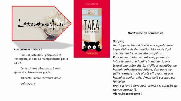 Tara, agent félin infiltré de Cédric Charbonnel auteur indépendant. Première mission.