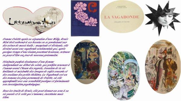 La vagabonde de Colette 1910 édition ½uvre complète Flammarion 1960