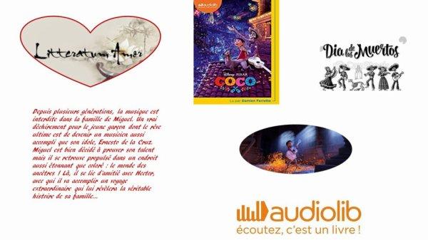 Coco Disney Pixar chez Audiolib