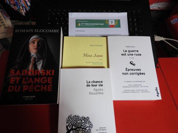 17 ème Prix FNAC Rentrée littéraire 2018