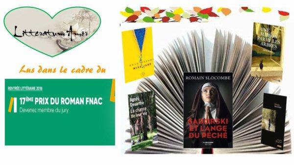 5 chroniques de la Rentrée littéraire FNAC 2018