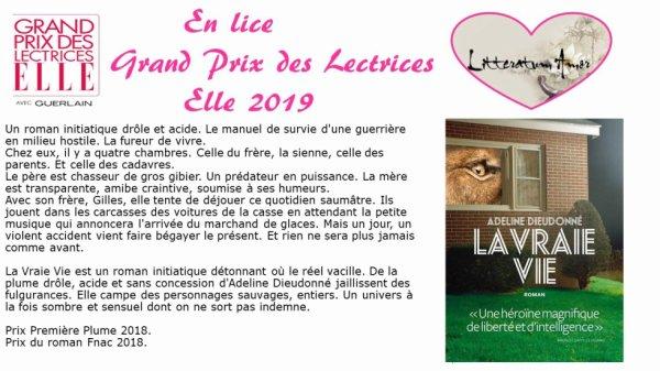 La vraie vie d'Adeline Dieudonné aux éditions l'Iconoclaste