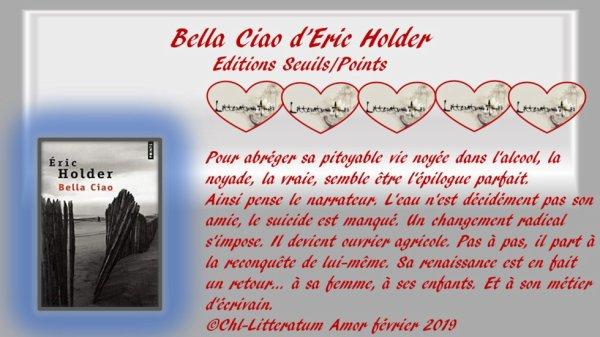 Bella ciao d'Eric Holder au Seuil 2009