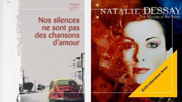 Nos silences ne sont pas des chansons d'amour Tom Noti aux éditions La Trace.
