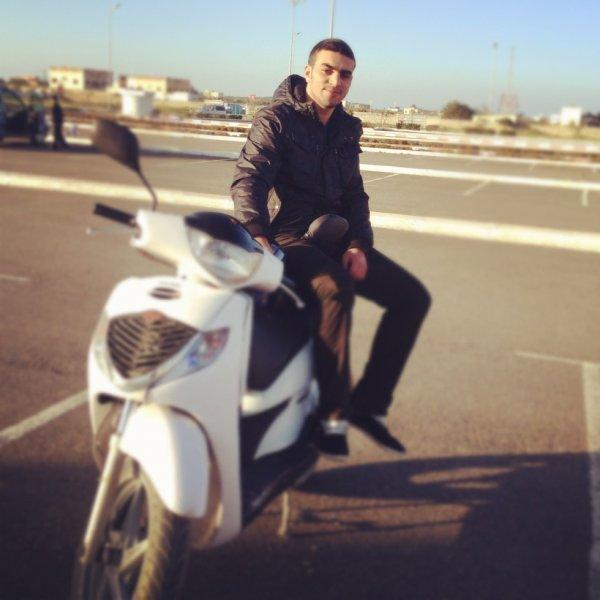 Moi et mon ami Honda Sh