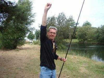 Francis à la pêche