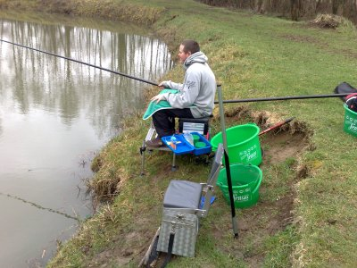 Session de pêche du dimanche matin du 21 Mars 2010