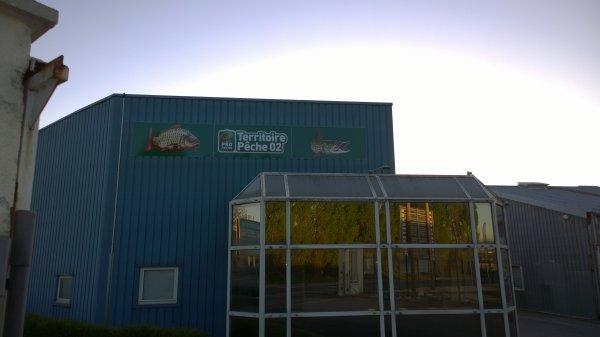 """Nouveau magasin de pêche """"Territoire pêche 02"""""""