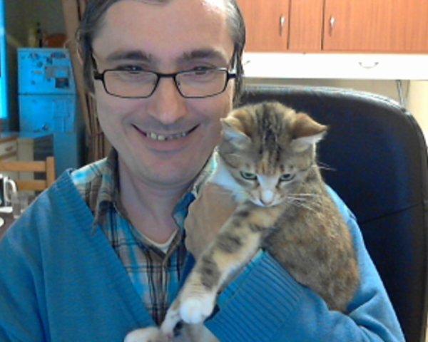 Fripounette et moi:)