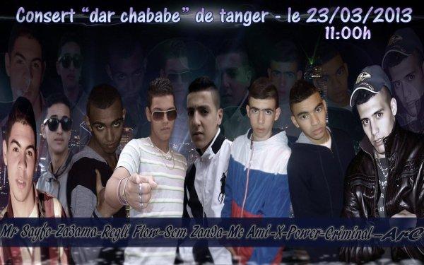 """Consert """" Dar ChàBàb """" De Tànger """" Le 23/03/2013"""