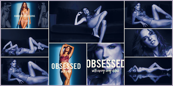 PHOTOSHOOT | 2017 - Découvrez le shoot d'Alessandra pour Obsessed Lingerie Victoria Secret !