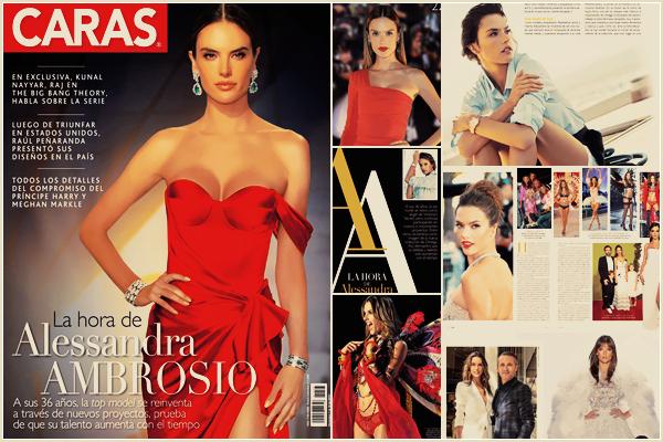 PHOTOSHOOT | Décembre  2017 - Découvrez le photoshoot d'Alessandra pour le magazine Caras