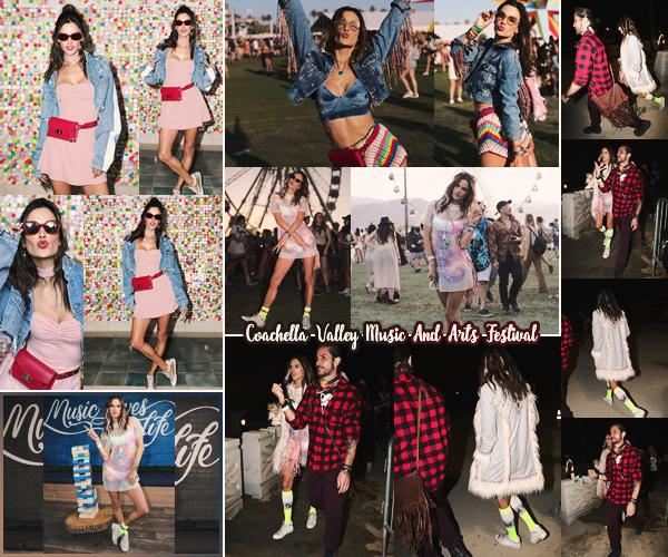-─ 15/04/18- : Alessandra Ambrosio à été photographiée lors de l'événement - « REVOLVEfestival » pendant Coachella !  Alessandra à été assez discrète sur le festival car nous avons presque pas de photo... Je trouve quand même Alessandra vraiment magnifique ▬ un TOP.