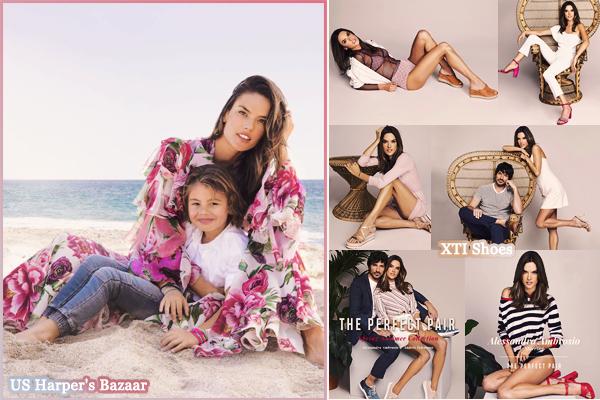 PHOTOSHOOT | Mai 2018 ▬ Découvrez les photoshoot d'Ale pour Harper's Bazaar et XTI Shoes !