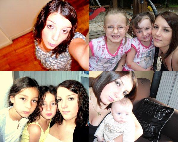 Mes nieces , neveu et mOi $)