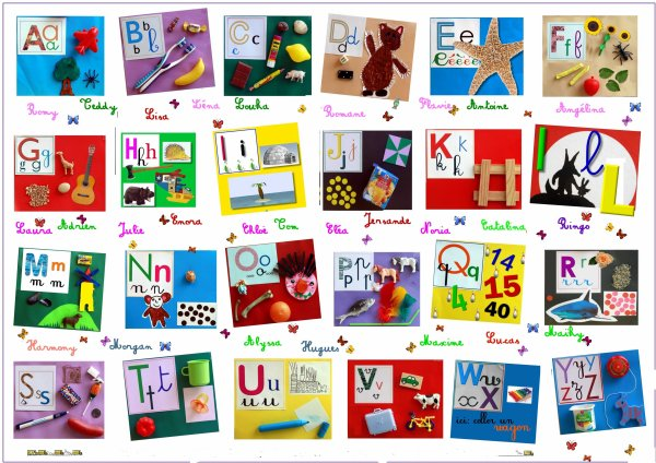 L 39 alphabet fran ais activit s du lyc e de gar ons - Alphabet francais maternelle ...