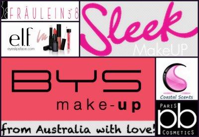 Les meilleurs sites internet de Makeup à petits prix