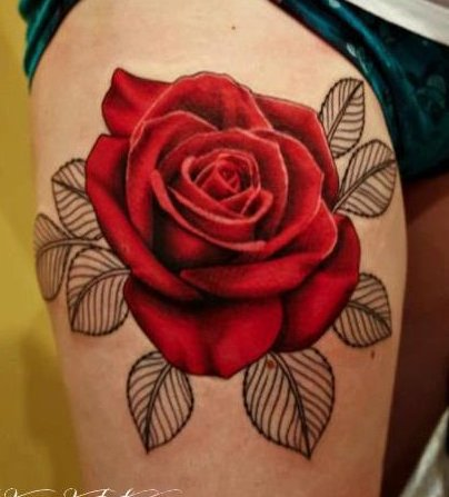 Articles De Passion Tatoo Tagges Les Roses J En Suis A Plus De