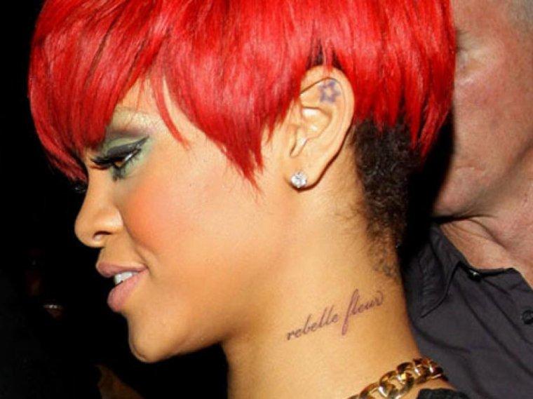 Tatouages de star : Rihanna (première partie)