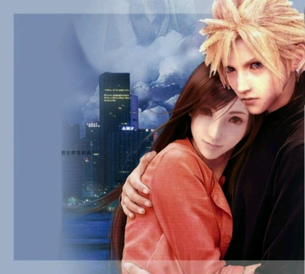 Tifa et cloud