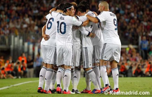 Finale aller de la Supercoupe d'Espagne : FC Barcelone – Real Madrid : 3-2