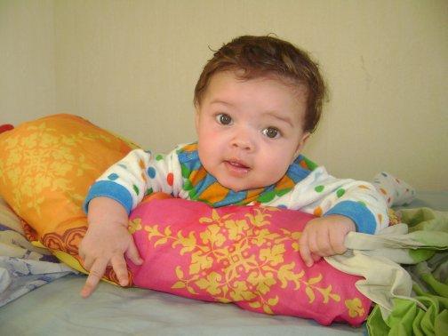 mon petit fils de 5 mois !