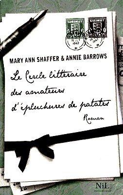 Le cercle littéraire des amateurs d'épluchures de patates Mary Ann Shaffer