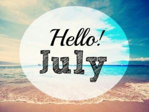 bonjour juillet