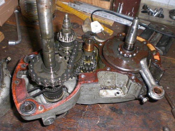 Le moteur Sachs 50/3 LKH