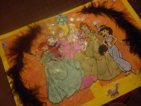 Création Disney princesse