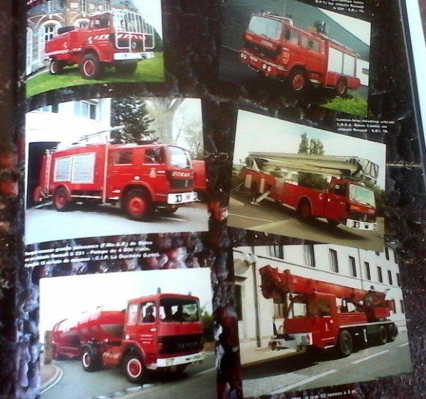 Photo prise dans un ancien livre de pompiers.