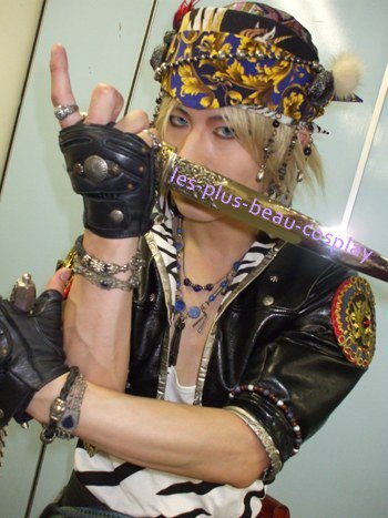 Cosplayeur : Dakatsu Jeu video : Final fantasy VI Personnage : Locke Cole