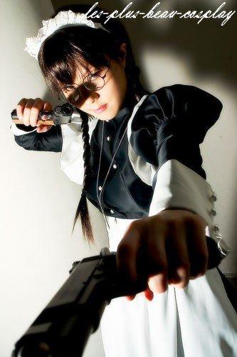 Cosplayeuse : Mijyah Manga : Black Lagoon Personnage : Roberta