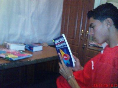 moi entraine d'étudier