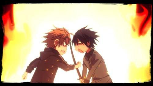 La rivalité entre Kuroto et Hotsuma