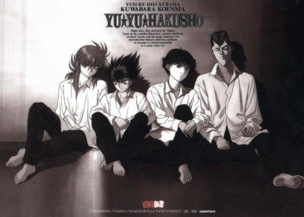 (Shōnen)  Yuyu Hakusho