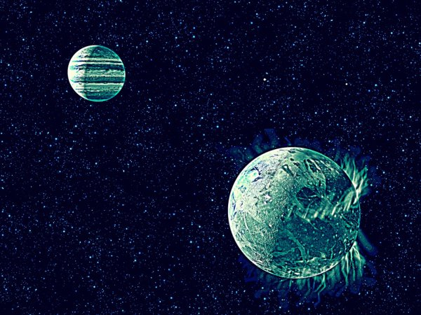 about the Ganymede moon